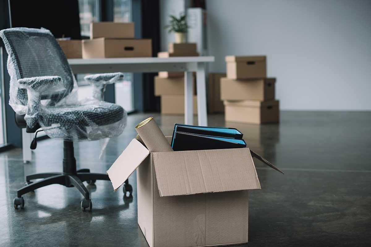 déménagement commercial, bureau à Montréal